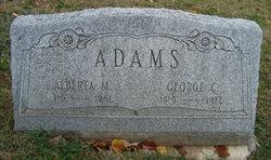Alberta M <i>Salisbury</i> Adams
