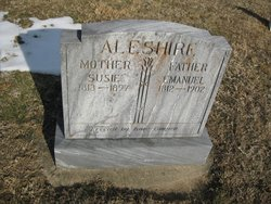 Susan Susie <i>Wright</i> Aleshire