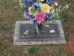 Dr Billy Wayne Sykes