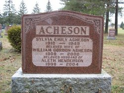 Sylvia Emily <i>Acheson</i> Acheson