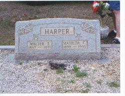 Matilda Cecile <i>Crawley</i> Harper