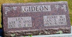 Hattie Arlillian Lily <i>Vinson</i> Gideon