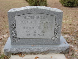 Booker T Brown