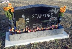Orpha M. <i>Wright</i> Stafford