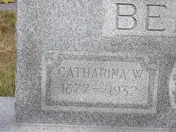 Catherine Wilhelmenia <i>Jongeneel</i> Benes