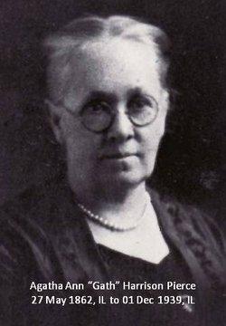 Agatha Ann Gath <i>Harrison</i> Pierce