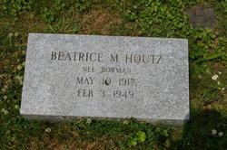 Beatrice Marie <i>Bowman</i> Houtz