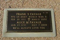 Alice M Favale