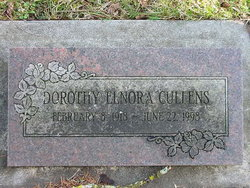 Dorothy Elnora Cullens