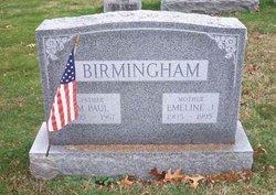 Emeline J <i>McCummings</i> Birmingham