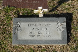 Ruth <i>Handley (Hundley)</i> Arnold