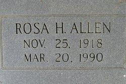 Rosa Zilla <i>Howell</i> Allen