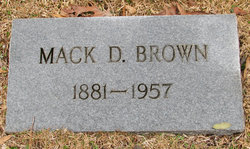 Mack D Brown
