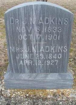 Josephine N. <i>Wales</i> Adkins