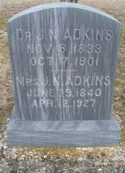 Dr Jasper N. Adkins