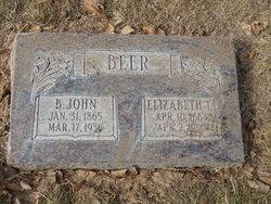 Elizabeth Margaret <i>Taylor</i> Beer