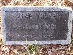 Sarah Griffin <i>Burleson</i> Armstrong