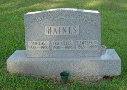 Ira Osler Haines