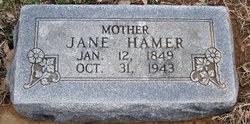 Eliza Jane <i>Yingst</i> Hamer