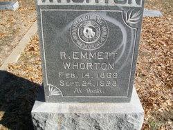 Robert Emmett Whorton