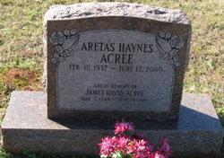Aretas <i>Haynes</i> Acree