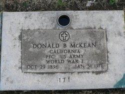 Donald B. McKean