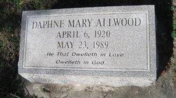 Daphne Mary Allwood