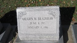 Vaughn M Bradshaw