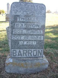 Thomas J Barron