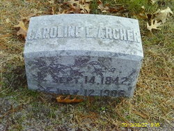 Caroline E <i>Calkins</i> Archer