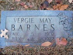 Virgie May <i>Hooper</i> Barnes
