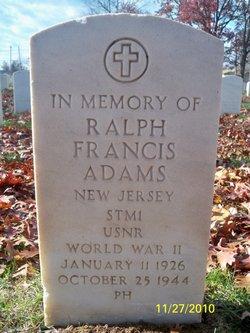 Ralph Francis Adams