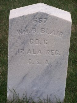 Pvt William B Blair