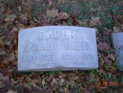 Mabel Adelyne <i>Stephens</i> Bader