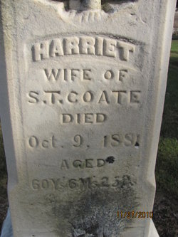 Harriet <i>Anthony</i> Coate