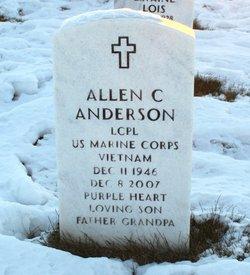 Allen C Anderson