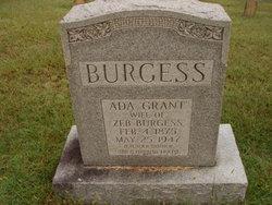 Ada Beulah <i>Grant</i> Burgess