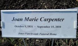 Joan Marie <i>Van Gordon</i> Carpenter
