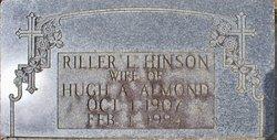 Riller Loranza <i>Hinson</i> Almond