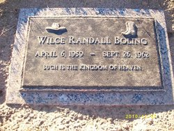 Wilce Randel Boling