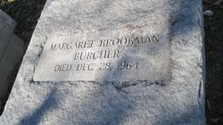 Margaret <i>Brookman</i> Burcher