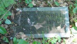 Harry David Wendell