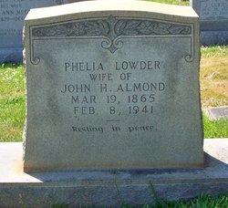 Phelia <i>Lowder</i> Almond