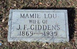 Mamie Lou <i>Johnson</i> Giddens