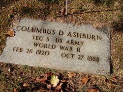 Columbus D Ashburn