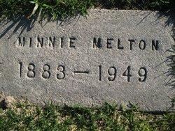 Minnie Malinda Adeline Minnie <i>Graham</i> Melton