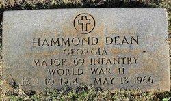 Maj Hammond Dean