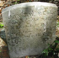 Jane W Bell