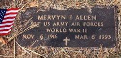 Sgt Mervyn E. Allen