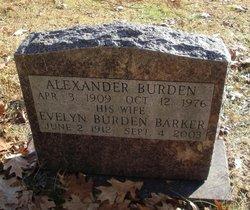 Evelyn <i>Burden</i> Barker